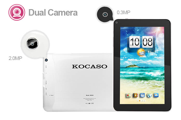 KOCASO M9200  9'' High Resulotion Screen, Dual Core Tablet PC Android 4.2 at Sears.com
