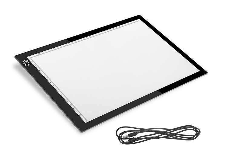 New A4 Led Tracking Drawing Board Copy Board Tattoo Tracer Lighting