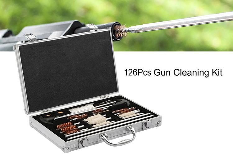 Universal Cleaning Kits Rifle Brushes Pistol Cleaner Handgun Shotgun Firearm Gun