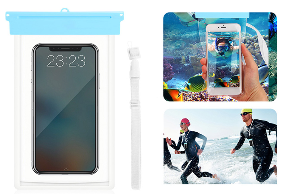 Details about Underwater Waterproof Pouch Dry Bag Case Cover For iPhone  Android Smartphones