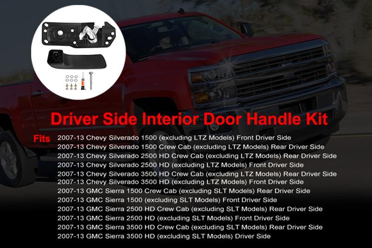 Door Handle Repair Kit Interior Inside Lh Driver For 07 13