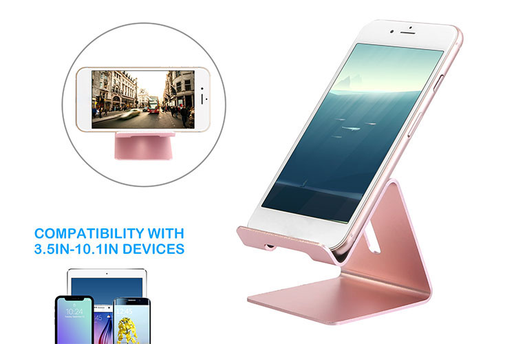 Details About Universal Smartphone Tablet Cell Phone Desk Table Desktop Metal Holder Stand Us