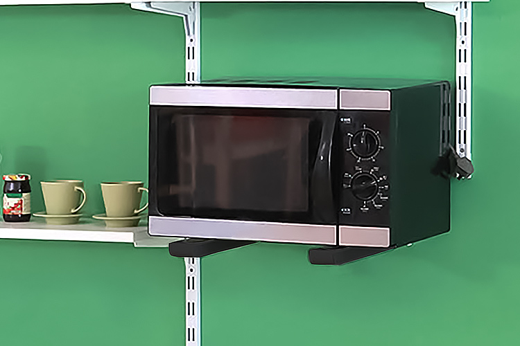 2x Microwave Oven Brackets Adjule