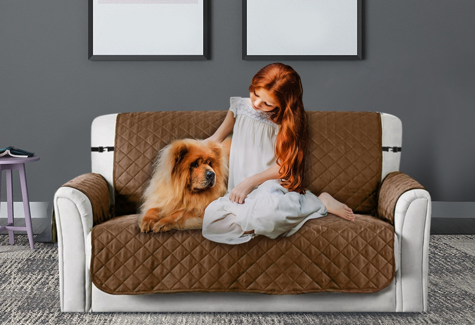 Dog Hair Resistant Couch Cover