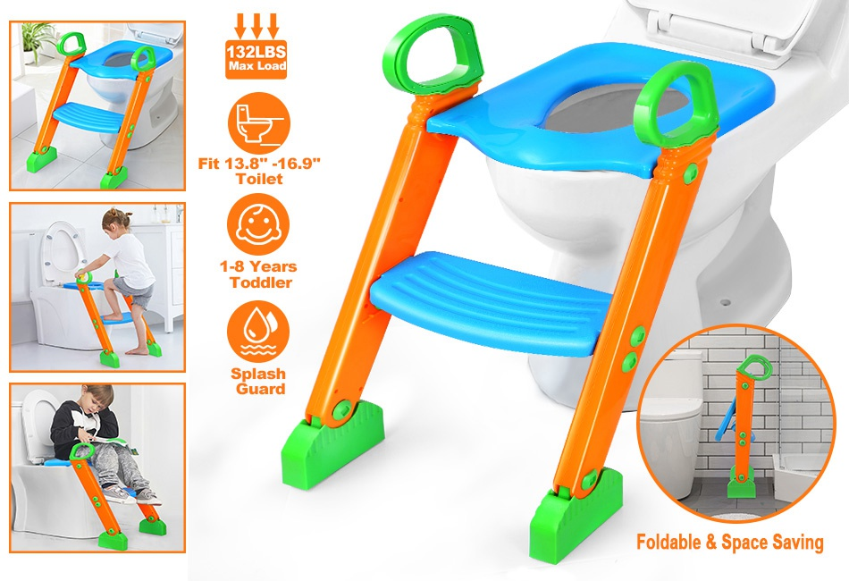 BABY KIDS CHILD TODDLER POTTY SEAT STEP UP TRAINING CHAIR URINAL TRAINER CHAIR